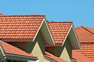 Dachziegel können Sie lackieren.