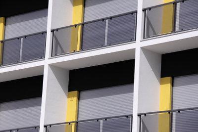 Balkone sollten vor Nässe geschützt werden.