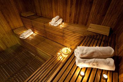 Private Sauna im Keller - Entspannung pur!