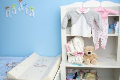 Blaue im Kinderzimmer beruhigt den Geist.