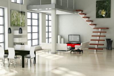 Weiße Möbel - modern und zeitlos.