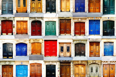 Alte Türen können Schmuckstücke sein.