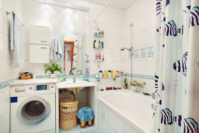 Schöne Badezimmer können Sie selbst gestalten.