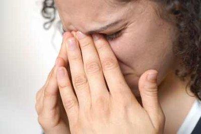 Weinen macht verheulte Augen.