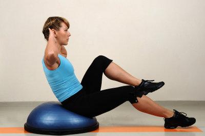 Mit Übungen wieder fit werden.