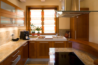 PVC-Boden in der Küche ist praktisch.