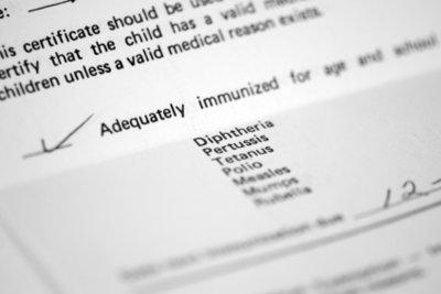 Gegen Ringelröteln gibt es keine Impfung.