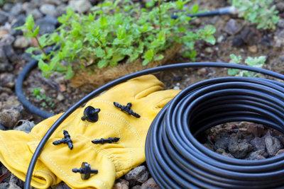Fertigen Sie Ihre Rasenbewässerungssysteme selbst.
