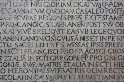 Zum Lateinlernen brauchen Sie etwas Fleiß.