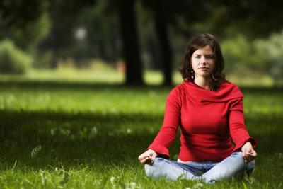 Yoga kann Ihnen innere Ruhe bringen.
