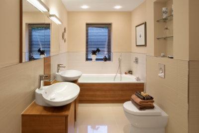 LEDs sind im Bad besonders geeignet.