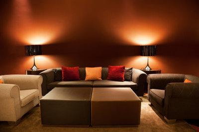 Außergewöhnliche Wohnraumgestaltung durch Lichteffekte