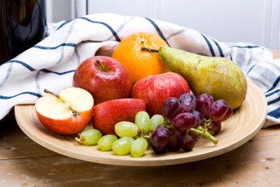 Obst zieht Gärfliegen magisch an.