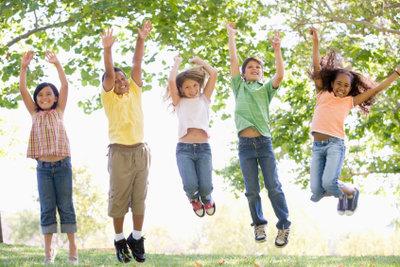 Gemeinsam spielen Kinder am liebsten.