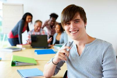 Auch ein Student darf arbeiten gehen.