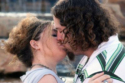 Küssen ist die schönste Sprache überhaupt.