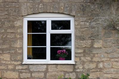 Bauen Sie Ihre Außenfensterbank selbst ein.