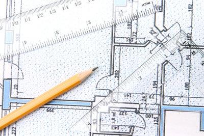 Der Bau eines Blockhauses benötigt Planung.