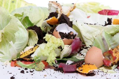 Aus Kompost entsteht ein natürlicher Dünger.