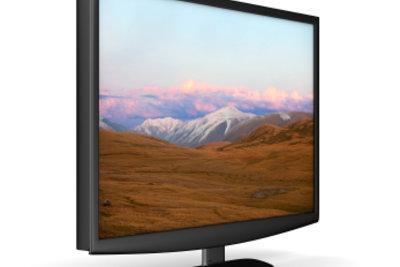 Die Monitoroberflächenbeschaffenheit ist häufig einfach Geschmackssache.