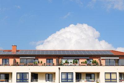 Ein Sonnenplatz auf der Dachterrasse.
