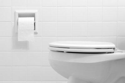 Ein neues Toilettenbecken als letzte Option.