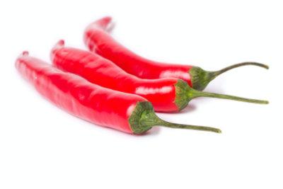 Aus einer Peperoni-Pflanze entstehen Chilischoten.
