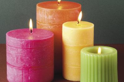 Kerzen sind zu jeder Jahreszeit stimmungsvoll.