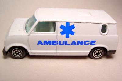 Manchmal ist der Krankenwagen notwendig.
