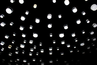 Licht trägt zur Wohlfühlatmosphäre bei.