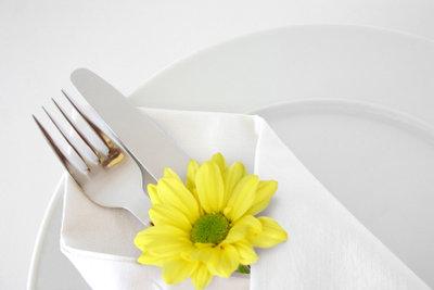 Tischdeko kann leicht selbst gestaltet werden.