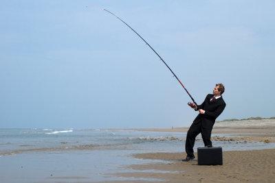 Ein erfolgreicher Angler.