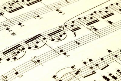 Singen nach Noten fordert Talent.