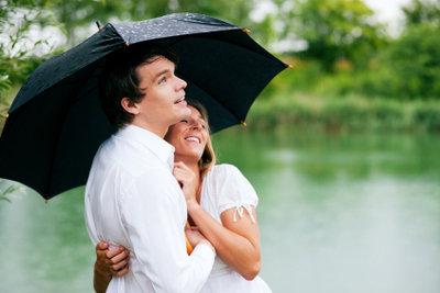 Regenwetter kann auch Spaß machen.