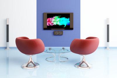 Gestalten Sie eine schöne TV-Wand.