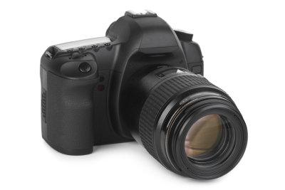 Eine Spiegelreflexkamera hat Vorteile und Nachteile.