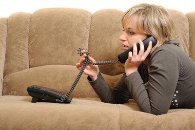 Ohne ein Telefon geht es nicht.
