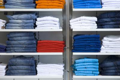 Die Größenumrechnung wird bei Jeans leichtgemacht.