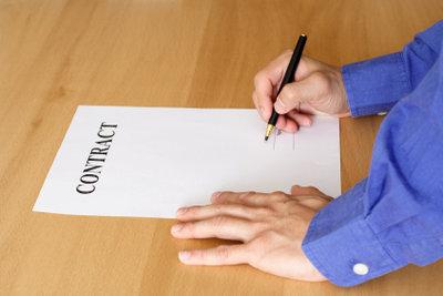 Der schriftliche Vertrag ist Arbeitgeberpflicht.