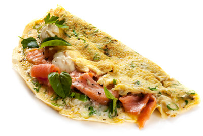 Crème fraîche schmeckt besonders zu Fischgerichten.