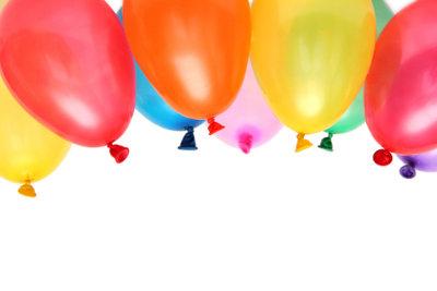 Luftballons müssen nicht unbedingt zerplatzen.
