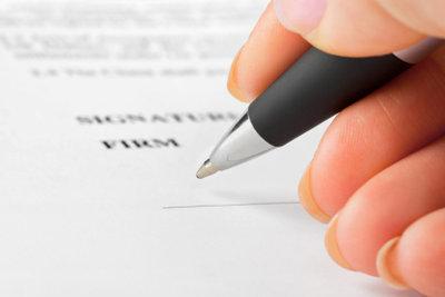 Bestehen Sie auf einen schriftlichen Arbeitsvertrag.