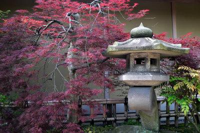 Entspannen Sie in Ihrem japanischen Garten.