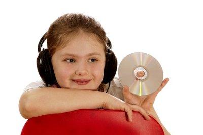 Auch Kinder lieben Hörbücher.
