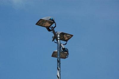 Flutlicht benötigt starke Strahler.