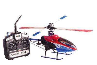 So fliegen Sie den Helikopter.