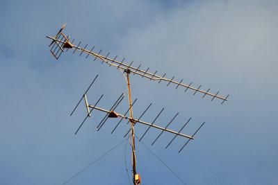 Ein Antennensignal kann oft verbessert werden.