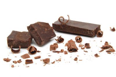 Verwenden Sie dunkle Schokolade.