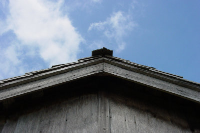 Beim Schuppen das Dach abdichten
