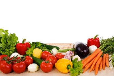 Heißhunger können Sie mit Rohkost verhindern